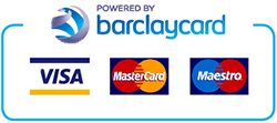 Powered by Barclaycard Payment Gateway